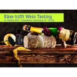 Käse trifft Wein Tasting-Paket (für zuhause)