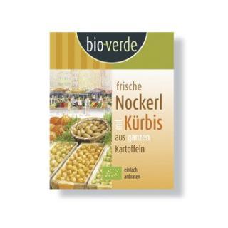 Frische Kürbis-Nockerl