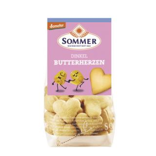 Dinkel Butter Herzen