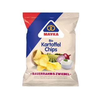 Chips Sauerrahm und Zwiebel