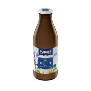 Joghurt natur 3,7% 1 l Flasche