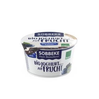 Blaubeer - Cassis Joghurt auf Frucht