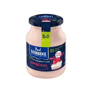 Himbeere Joghurt 7,5% im Glas