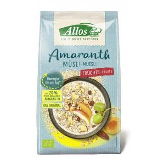 Amaranth Früchte Müsli