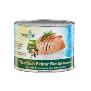 Thunfisch in eigenem Saft in der Dose 1,7 kg