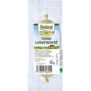 Leberwurst -fein - (Ökoland)