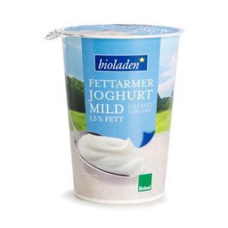 Joghurt natur 1,5%  im Becher