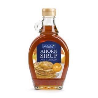 Ahornsirup  mild