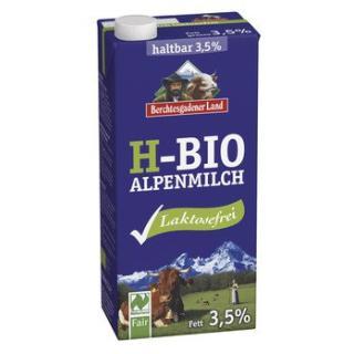 Milch - H-Alpenmilch 3,5% laktosefrei