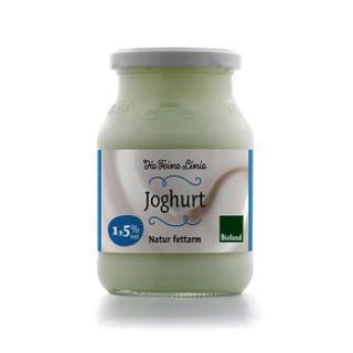 Joghurt natur 1,5%, Feine Linie (Glas)