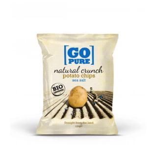Kartoffel Chips Meersalz