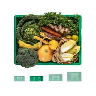 Smoothie-Kiste grün